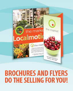 Brochures and Flyers do the selling for you